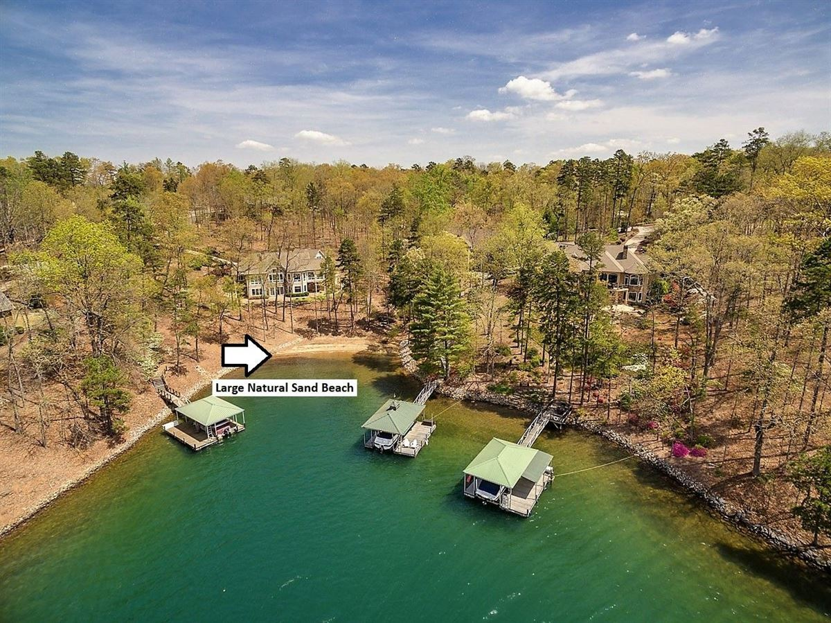 Luxury homes in standout home on Lake Keowee