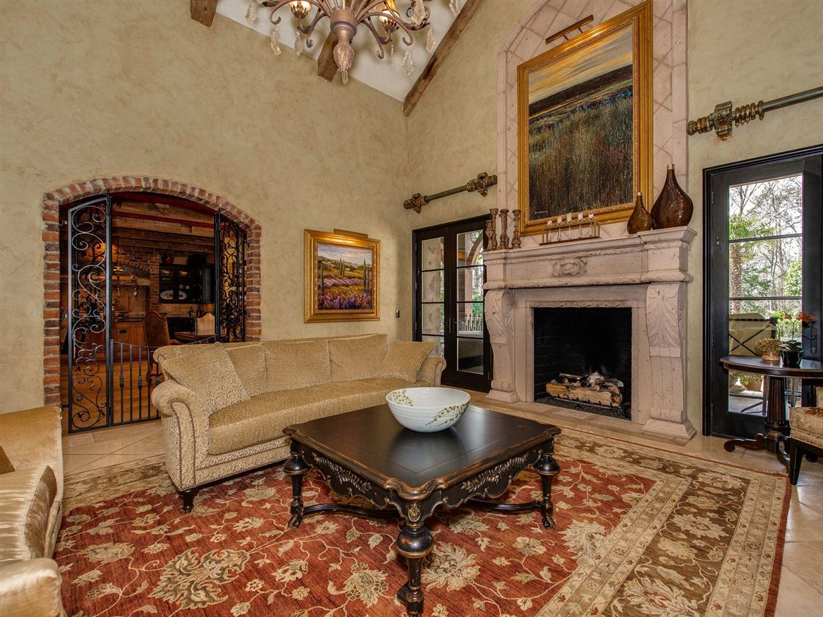 Elegant home with INTRICATE details of quality throughout luxury real estate