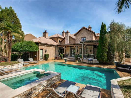 Elegant home with INTRICATE details of quality throughout luxury properties