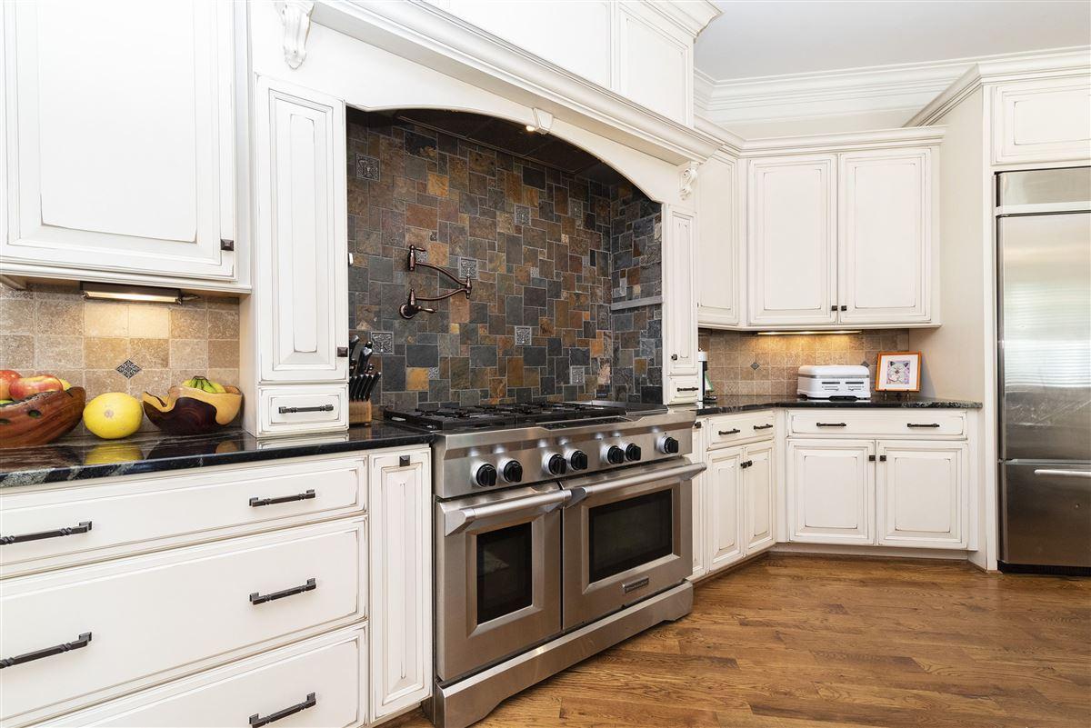 custom brick home in Brookberry Farm luxury properties