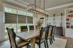 Luxury real estate casual elegance with tranquil comfort