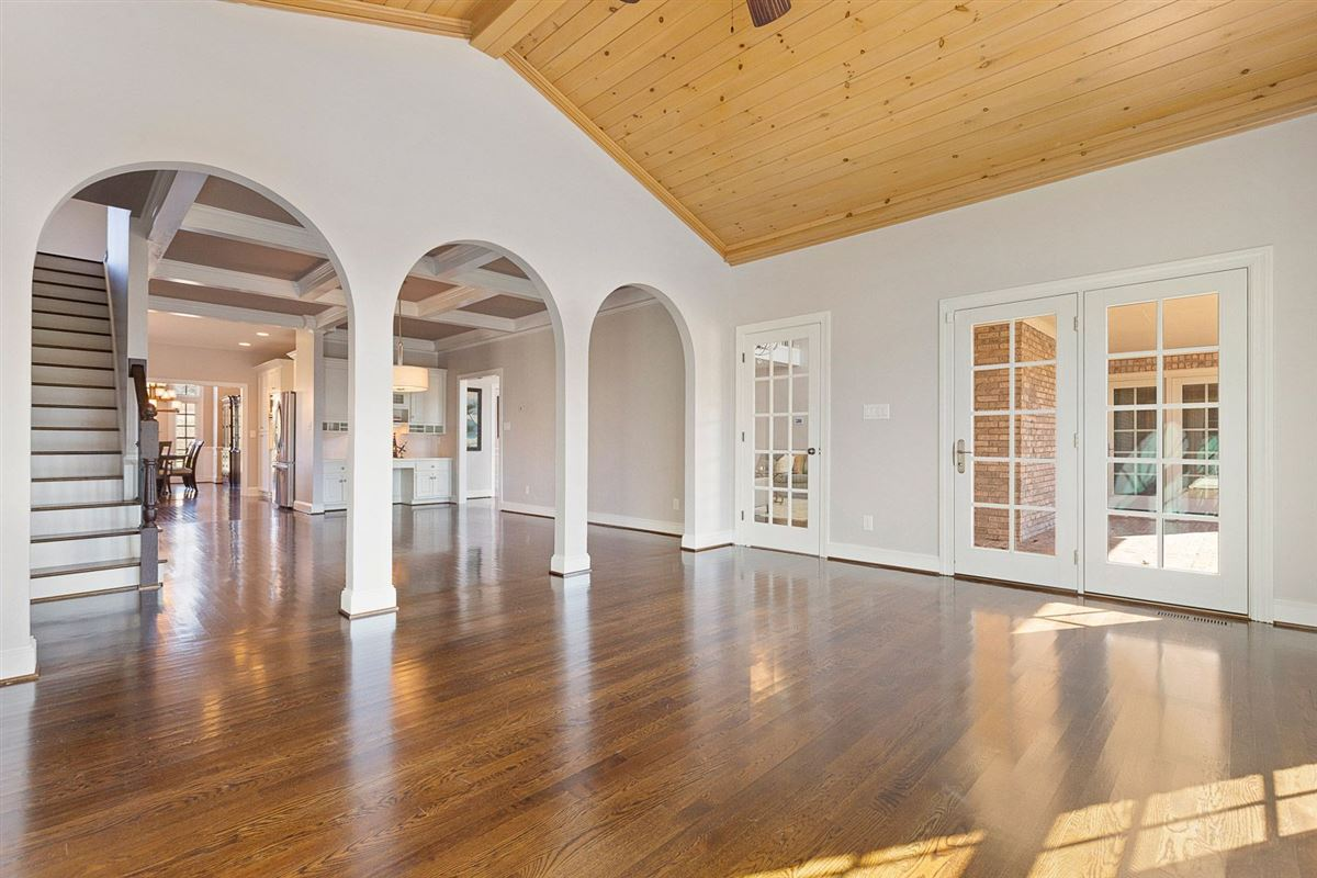 Luxury homes in luxury abounds in this recently renovated home