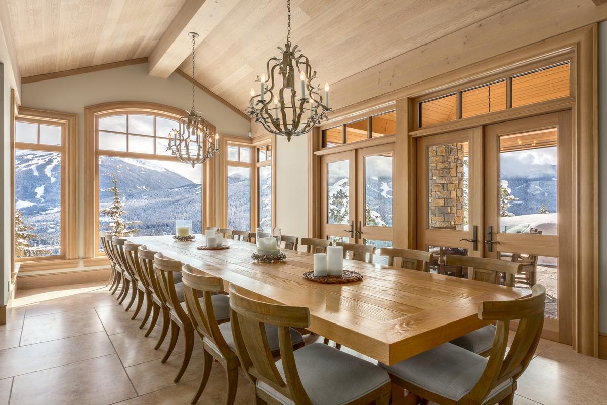 Mountain Oasis in Whistler luxury real estate