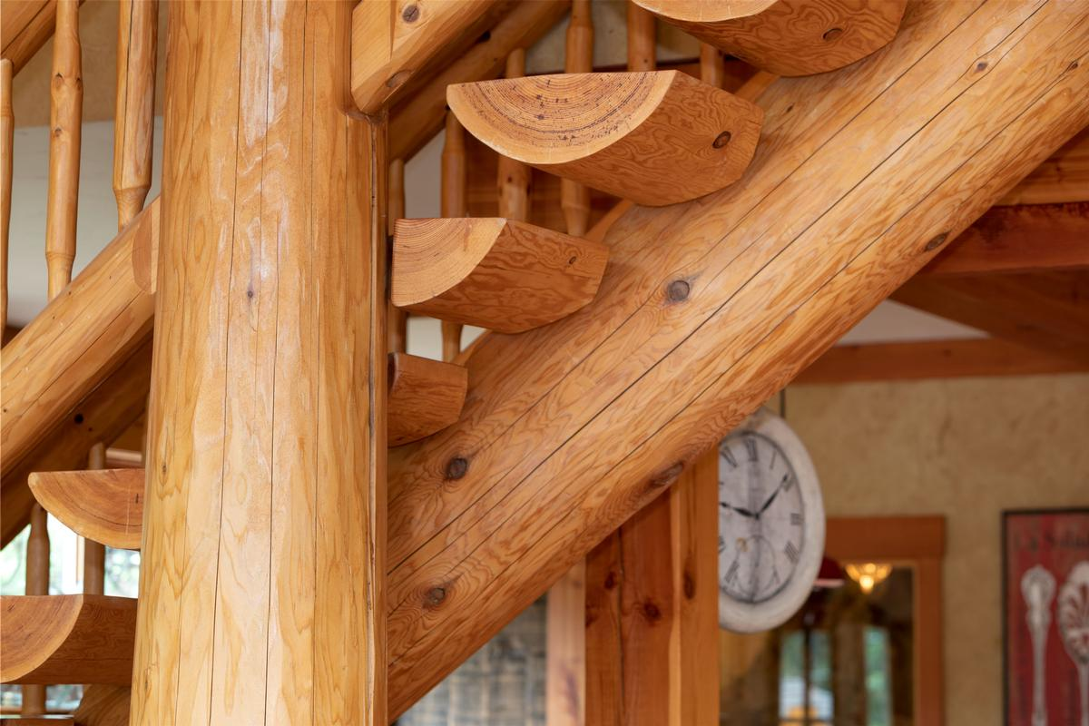 Magnificent Post and Beam Chalet luxury real estate