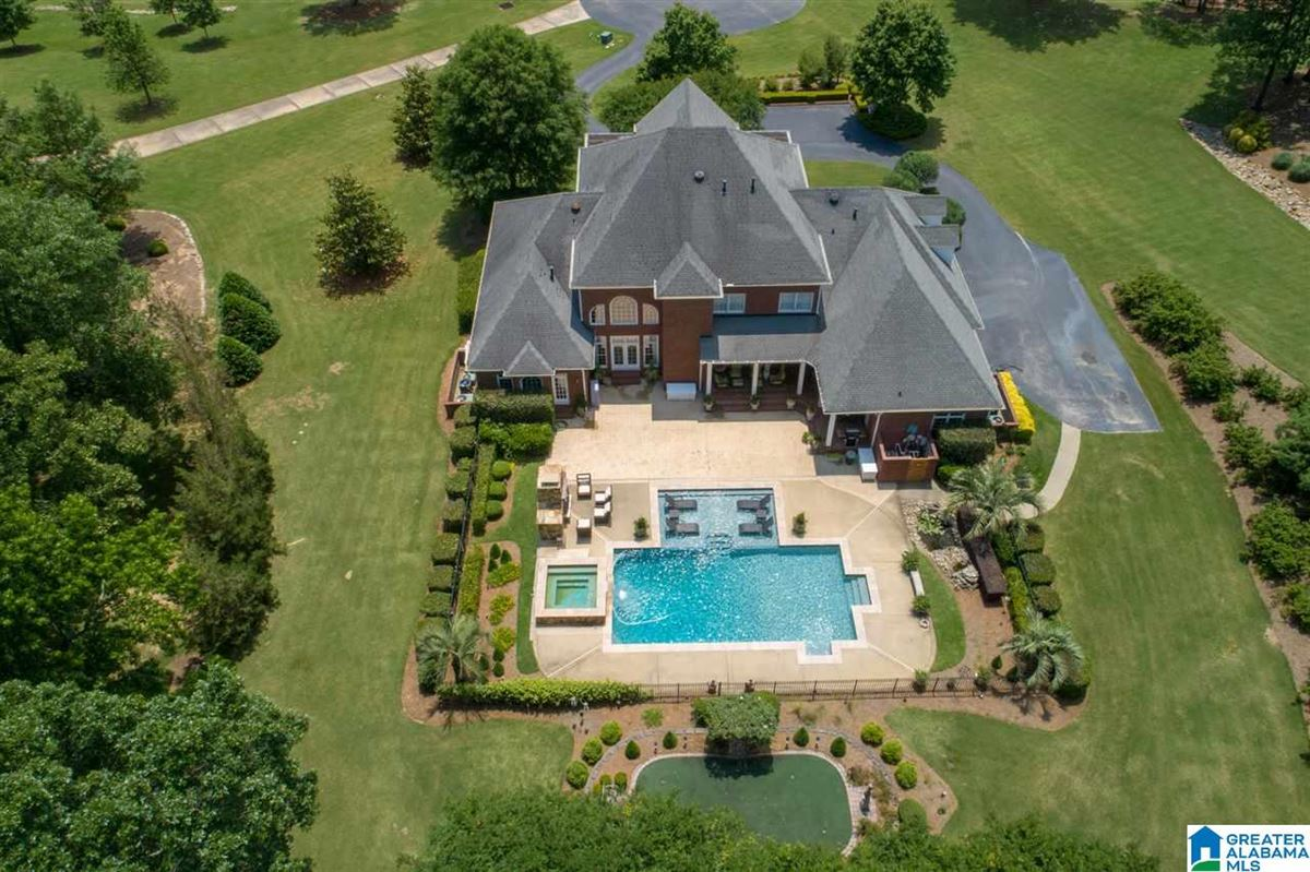 Luxury homes custom Southern Plantation style home on over five acres
