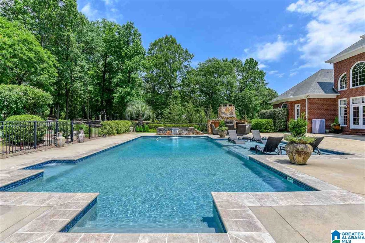 custom Southern Plantation style home on over five acres luxury homes