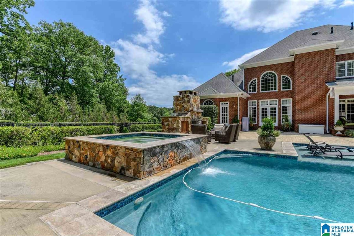 Luxury real estate custom Southern Plantation style home on over five acres