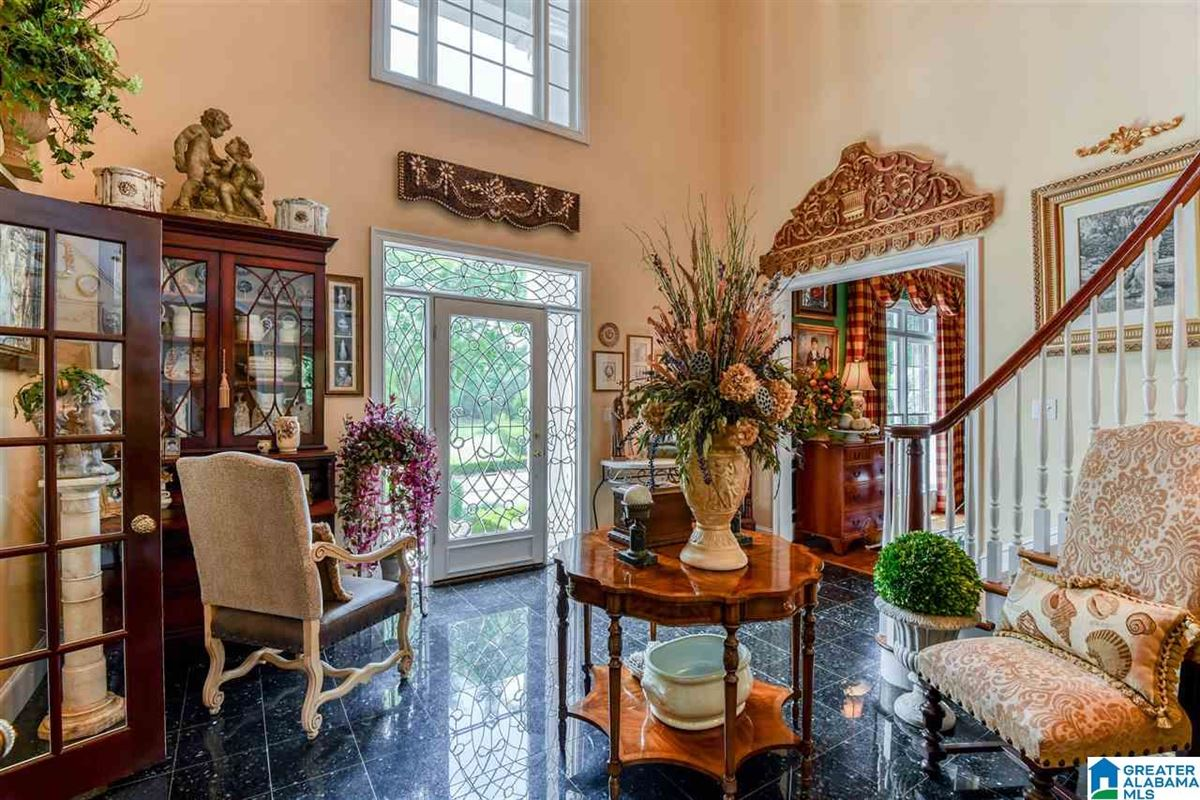 custom Southern Plantation style home on over five acres mansions