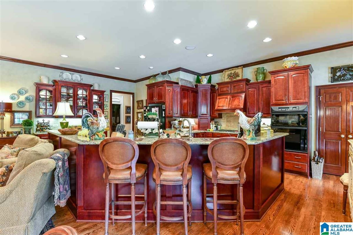 Luxury homes in custom Southern Plantation style home on over five acres