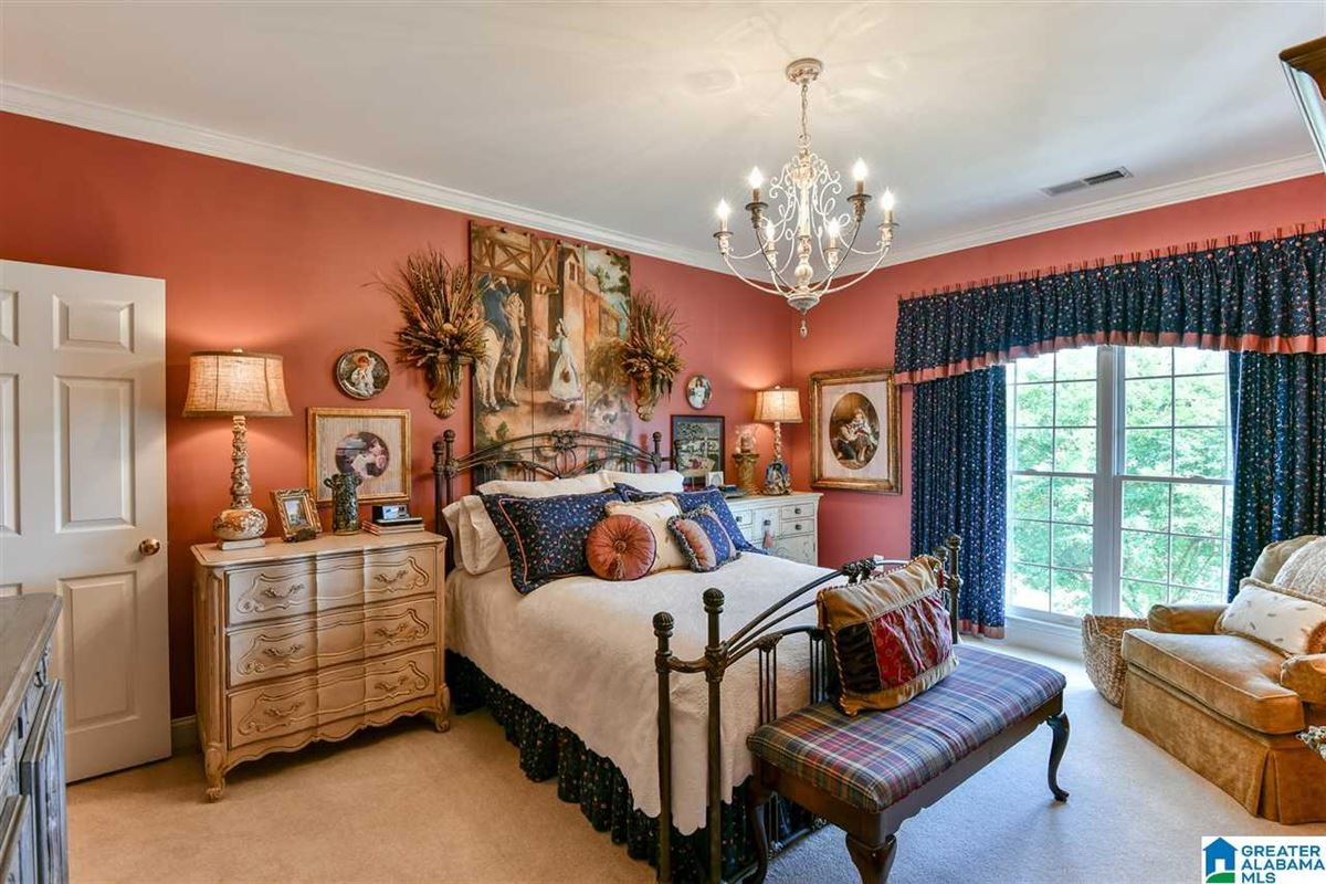Mansions in custom Southern Plantation style home on over five acres