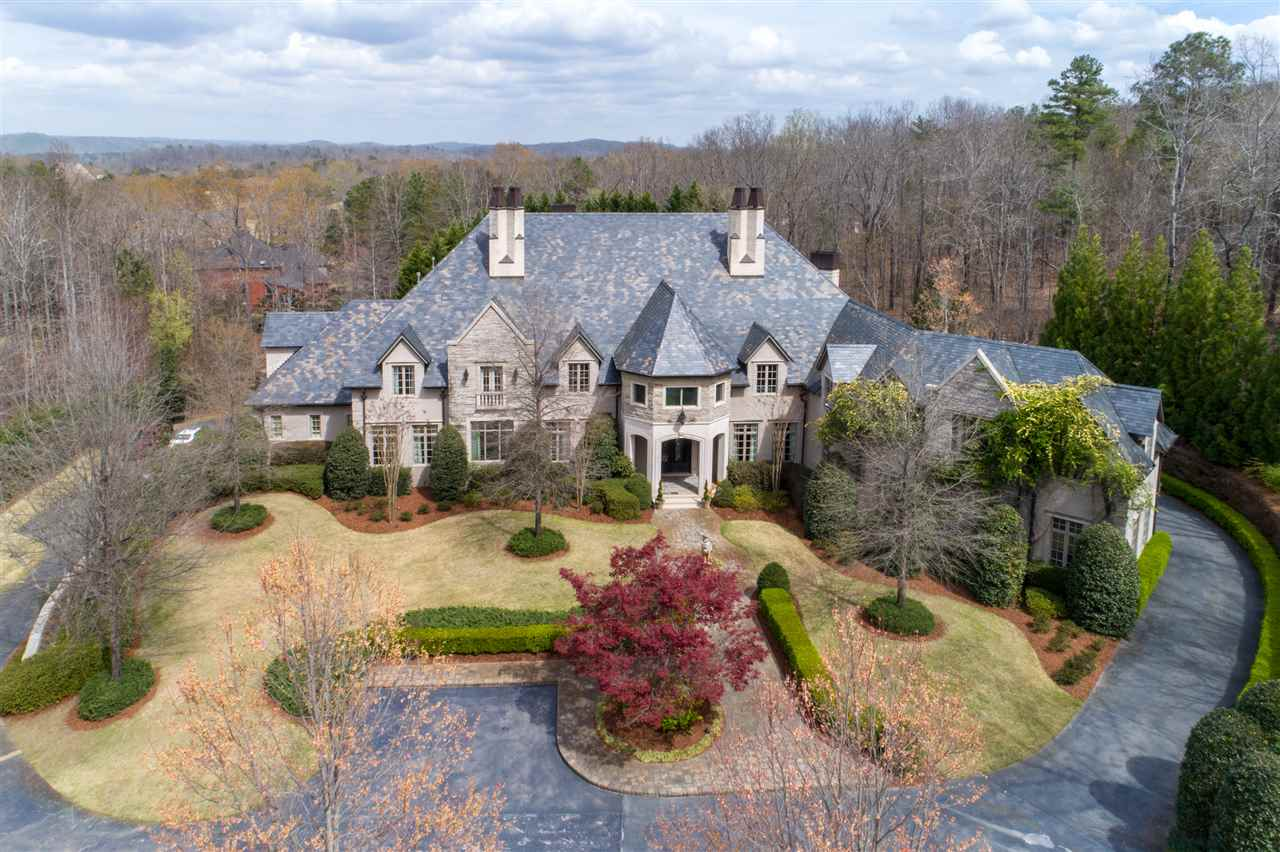 Spectacular Mansion On Picturesque Grounds