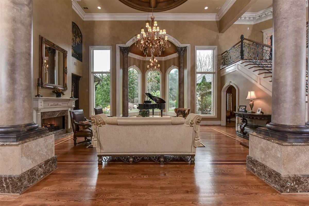 Luxury homes in spectacular mansion on picturesque grounds