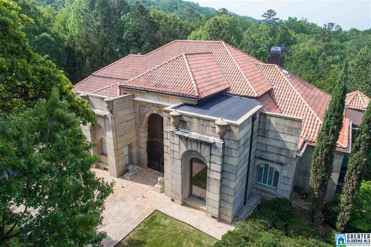 Mediterranean estate on four acres in hoover luxury properties