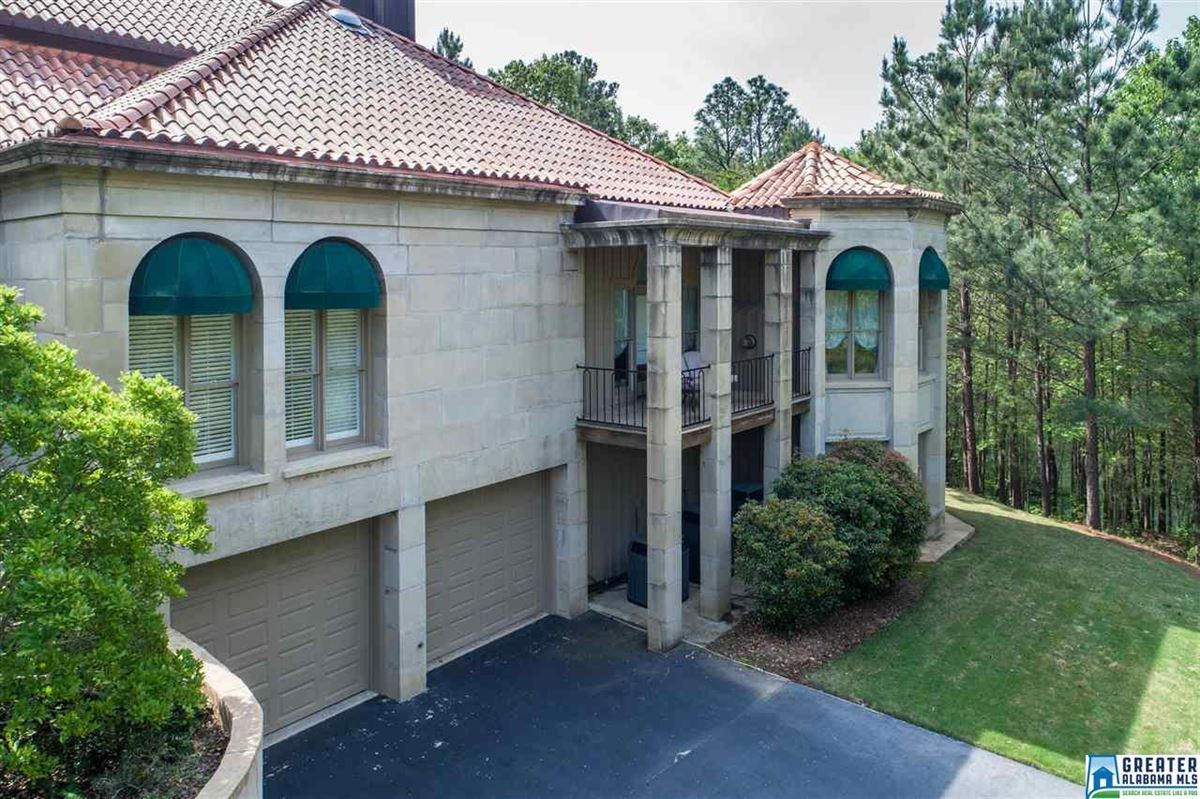 Mansions Mediterranean estate on four acres in hoover