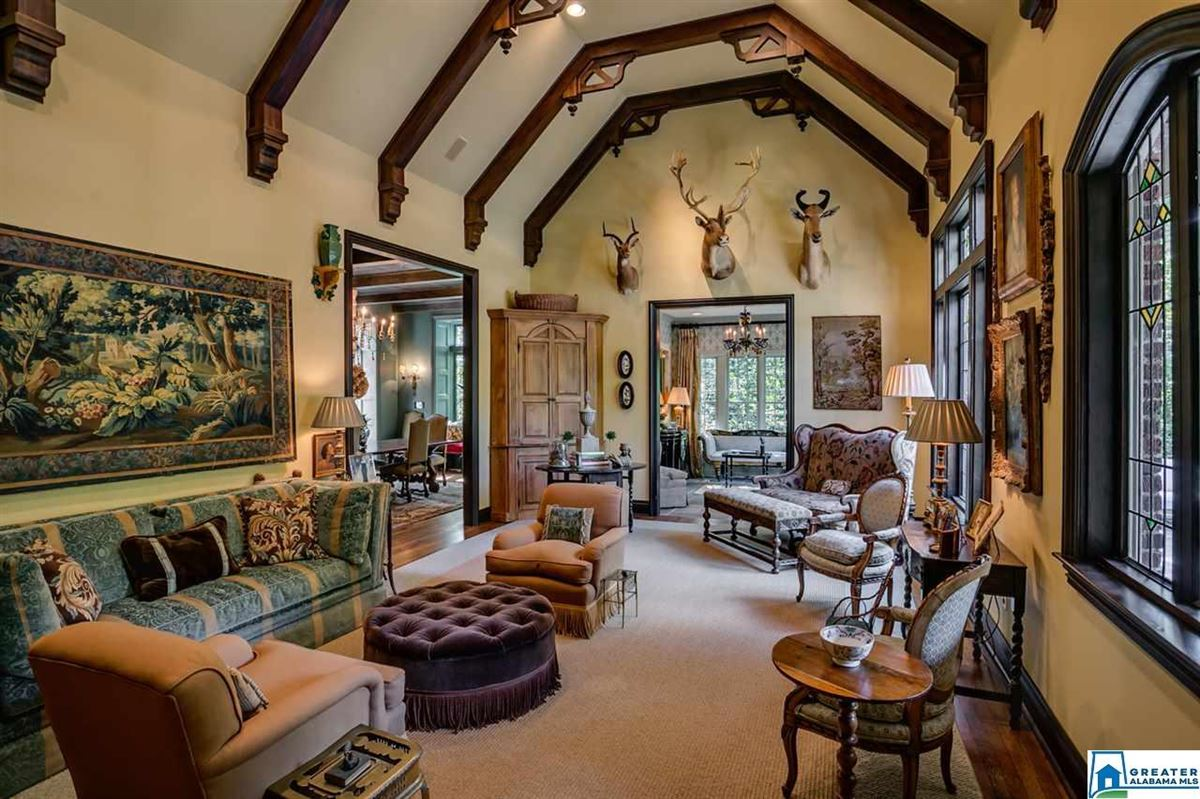 elegant 1929 Tudor home luxury real estate