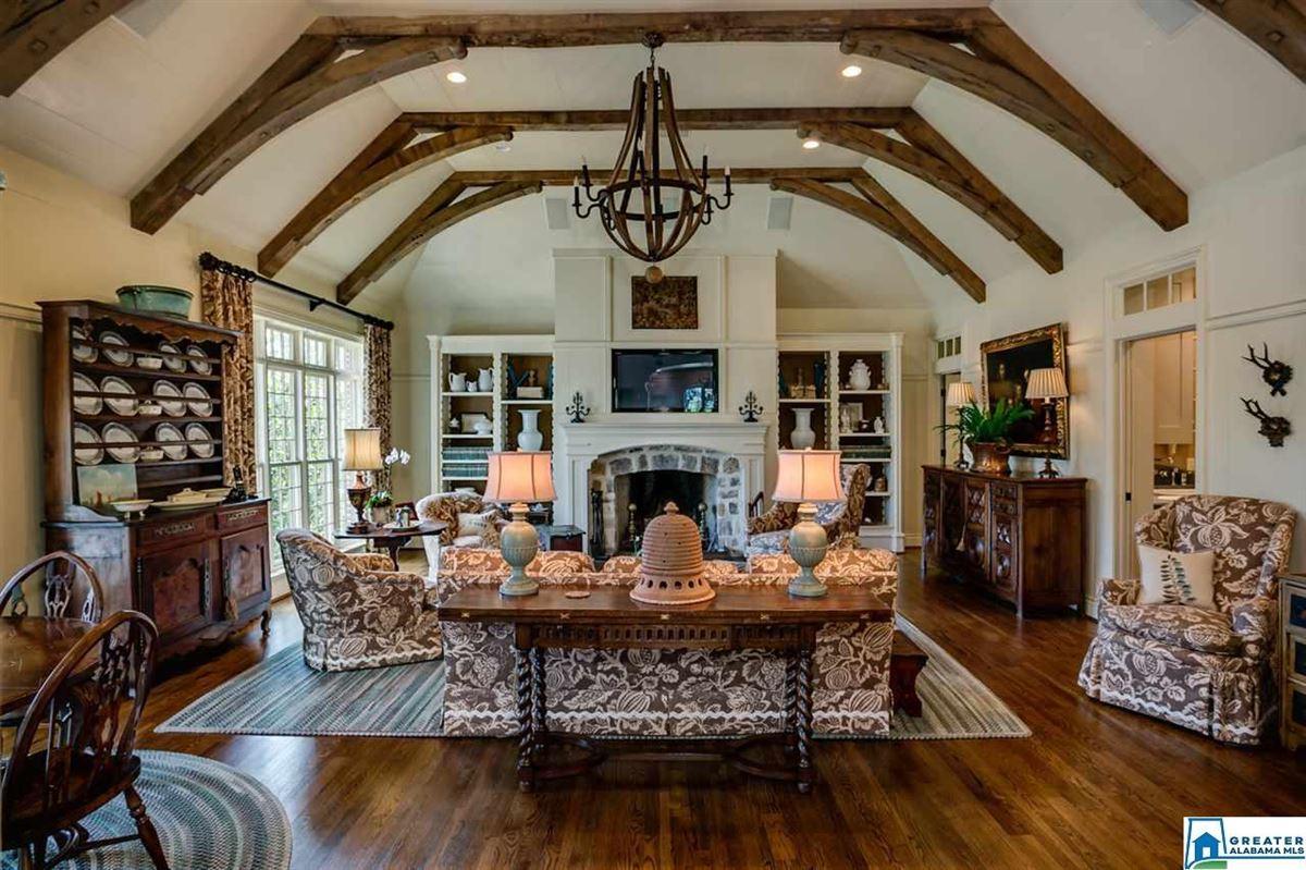 Luxury properties elegant 1929 Tudor home