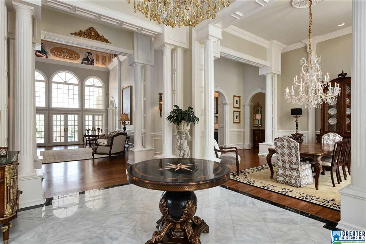 Luxury homes in showcase Greystone Estate