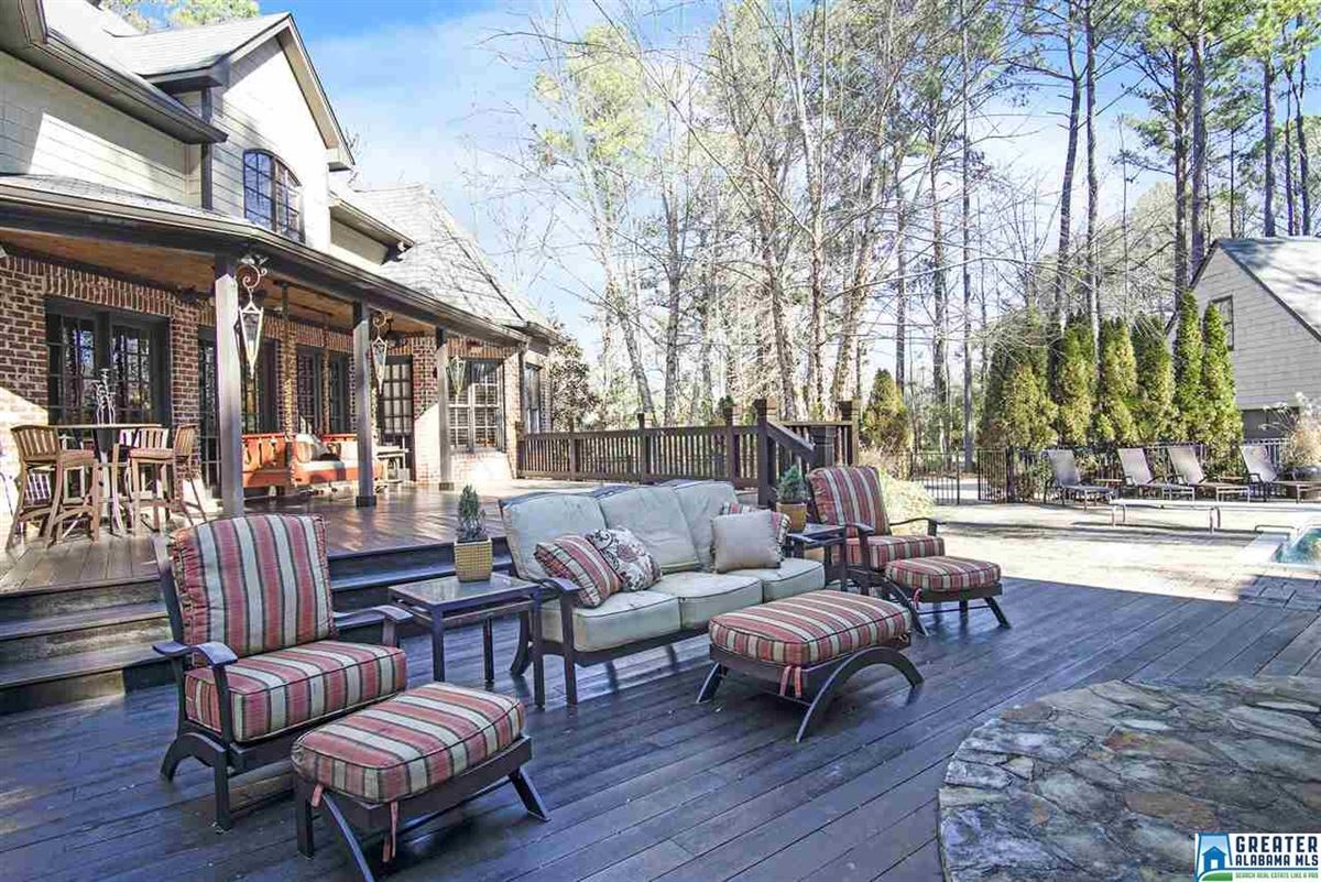 Luxury real estate Country French Home on three wooded acres