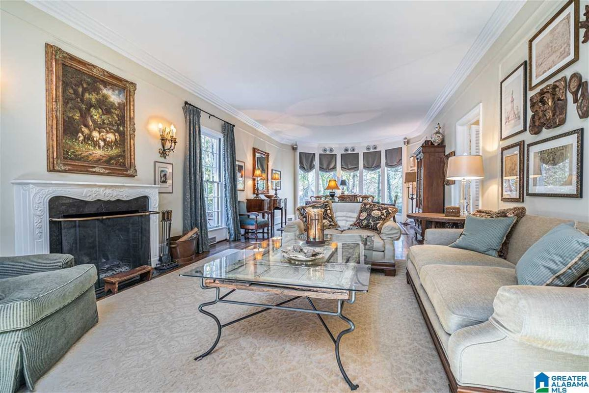 Old Mountain Brook appeal  luxury real estate
