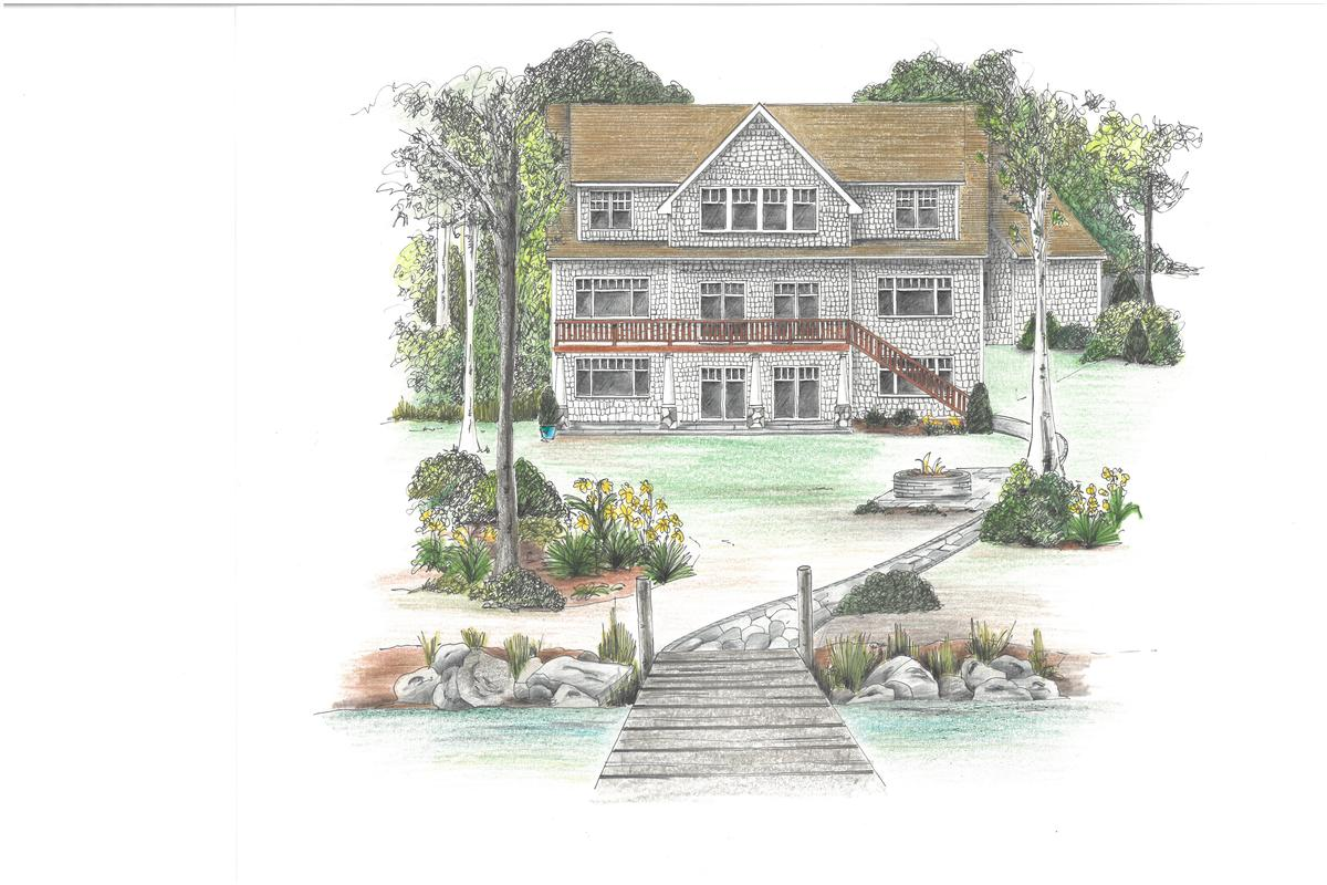 NEW WATERFRONT CONSTRUCTION in WOLFEBORO luxury real estate