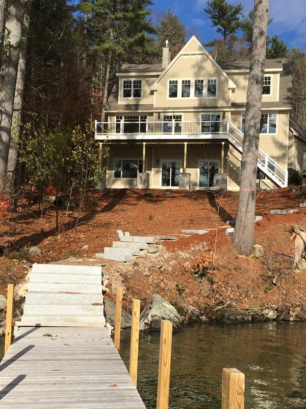 Luxury homes NEW WATERFRONT CONSTRUCTION in WOLFEBORO