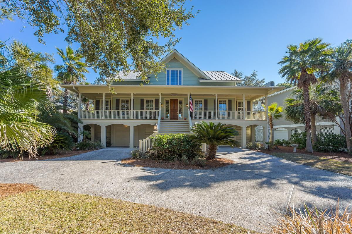 Mansions Lowcountry custom designed home