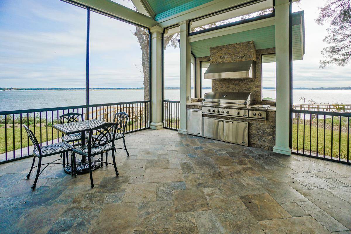 Luxury real estate New Custom Home Overlooking Beaufort