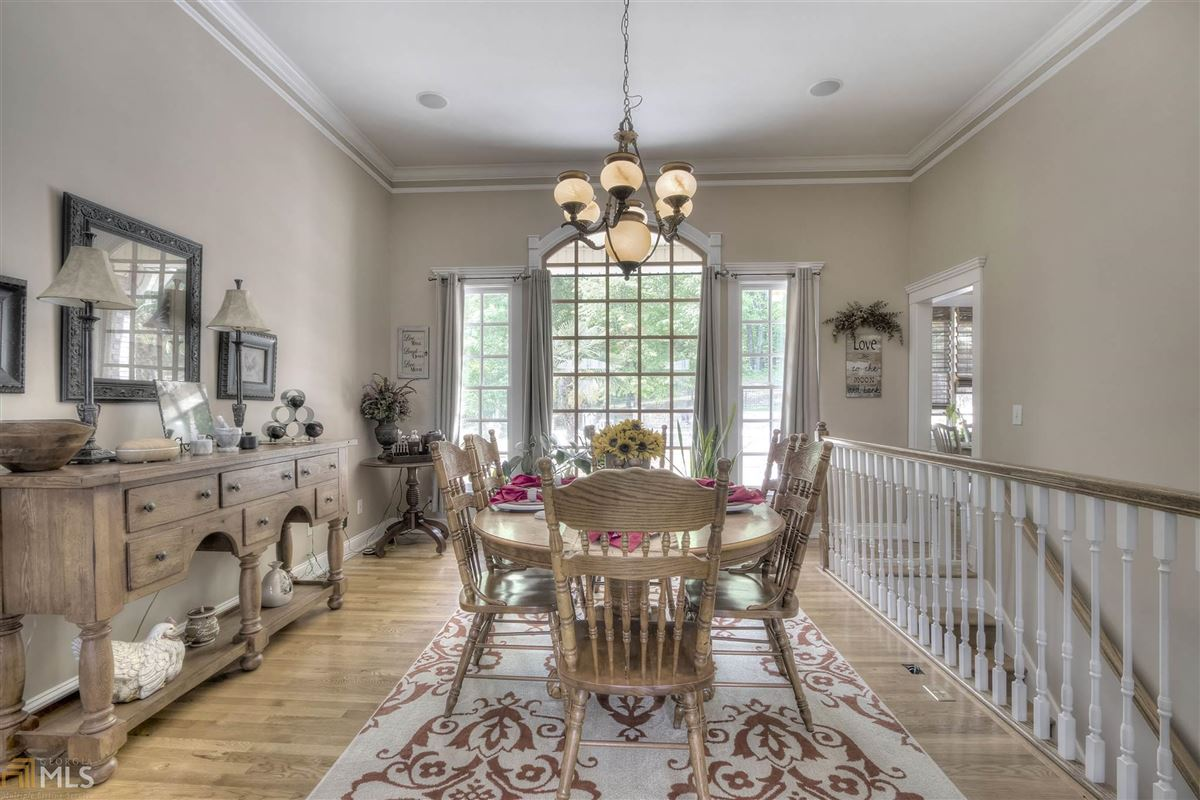 Luxury real estate beautiful brick ranch on 28 private acres