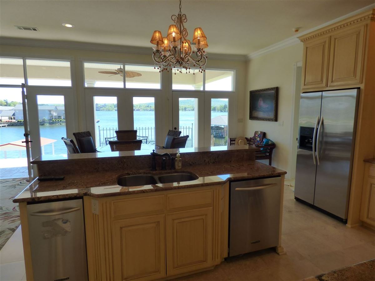 exquisite custom waterfront home in hot springs luxury real estate