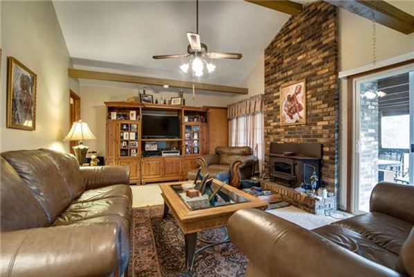 Luxury real estate Ranch style home on beautiful property