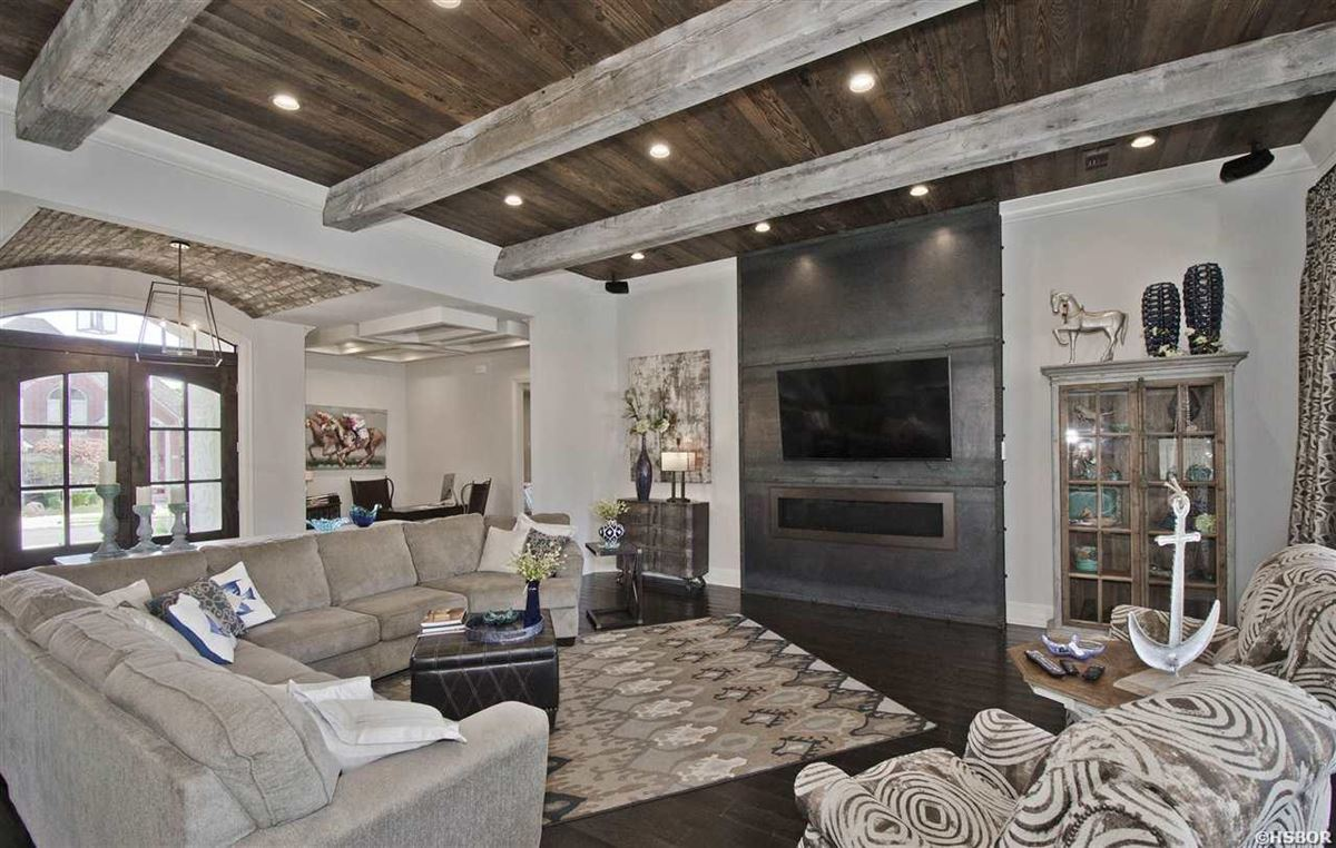lovely custom home with lake hamilton frontage luxury real estate