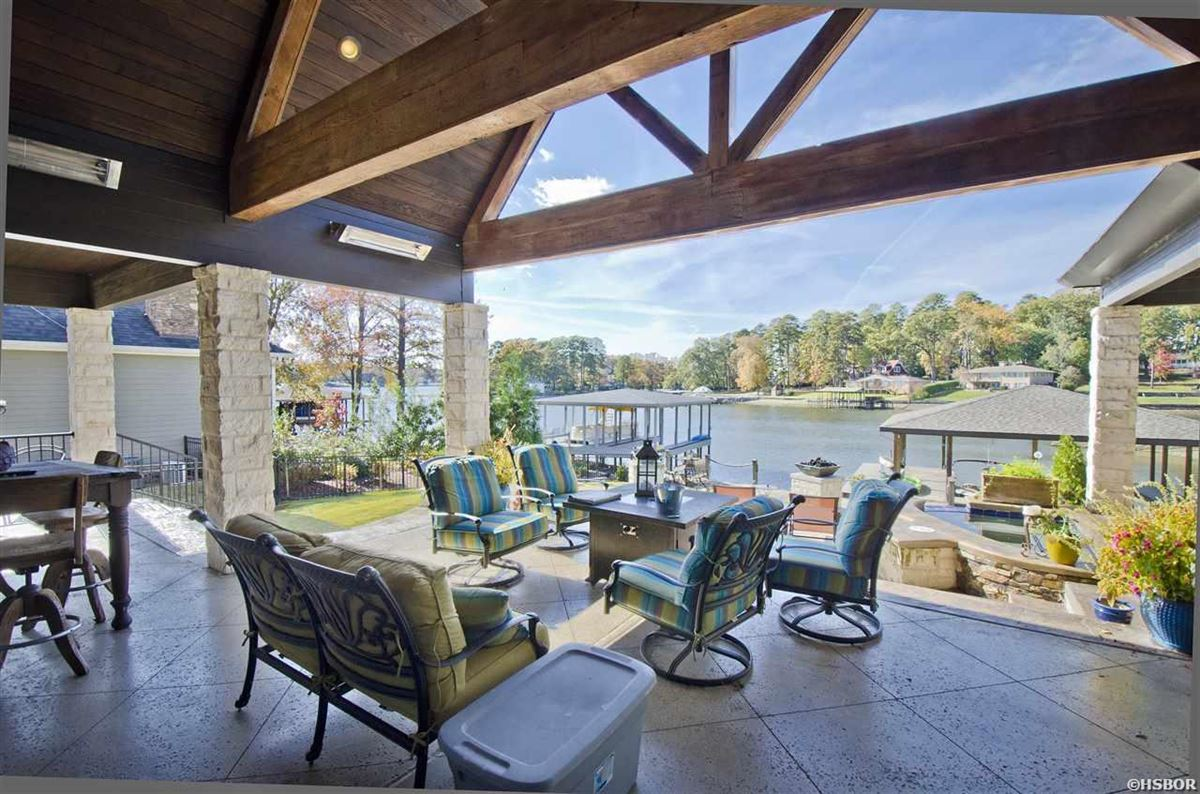 lovely custom home with lake hamilton frontage luxury properties