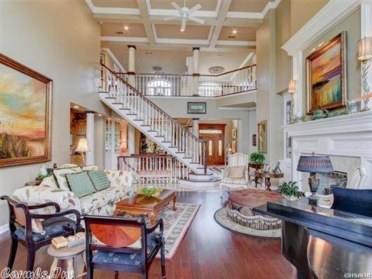 Luxury homes elegant custom home in hot springs