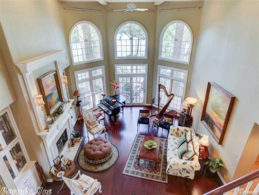 elegant custom home in hot springs luxury real estate