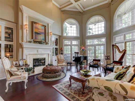 Luxury real estate an elegant custom home