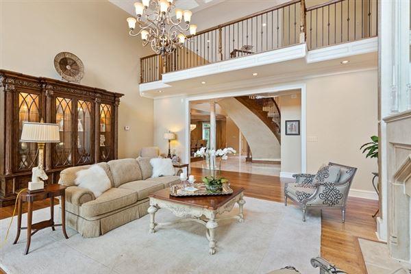 Luxury real estate an impressive home in germantown
