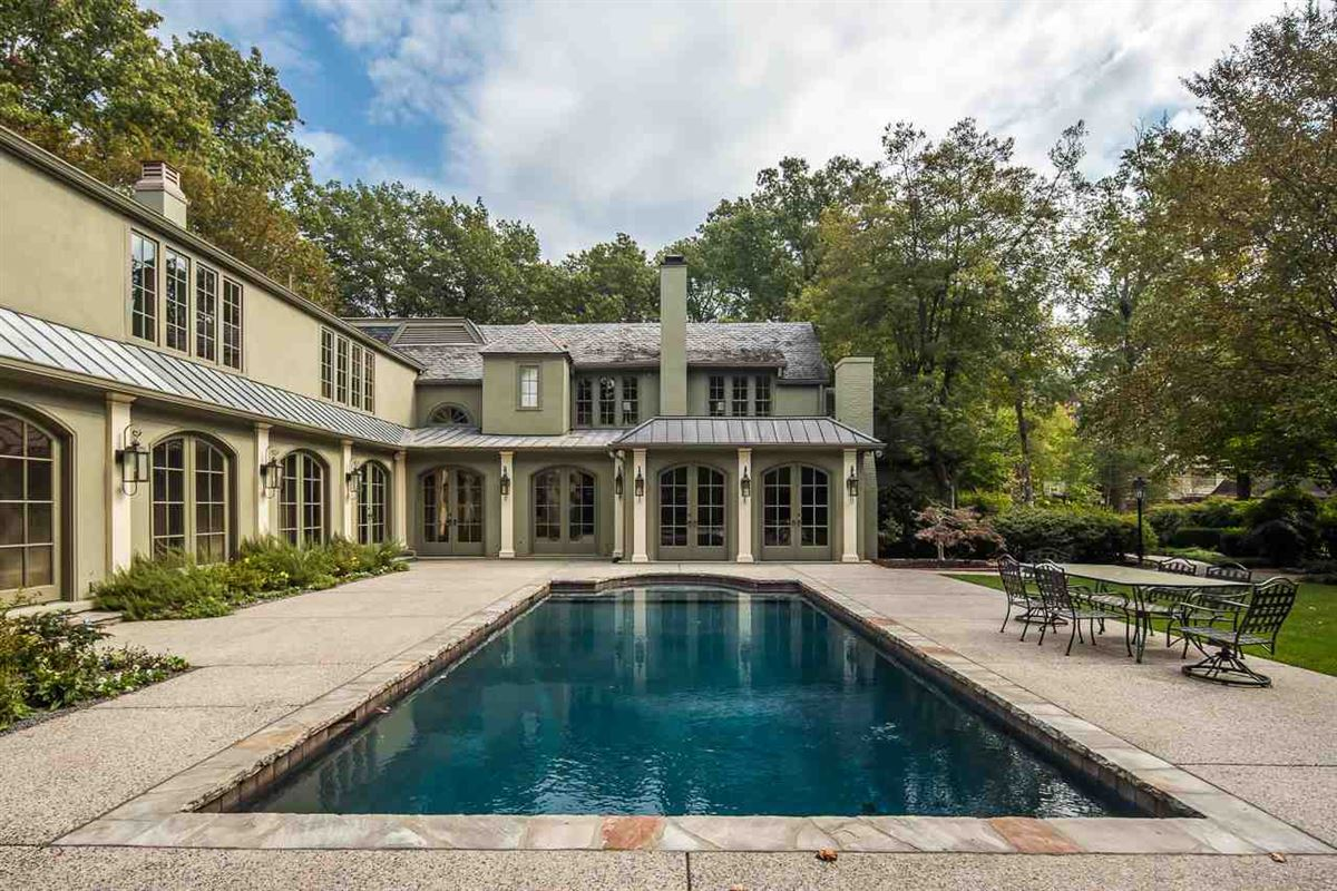 Luxury properties reimagined and updated 1928 English Manor home