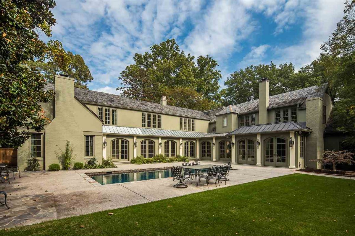 reimagined and updated 1928 English Manor home luxury properties