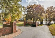 Luxury properties Remarkable lakefront home on Kentucky Lake