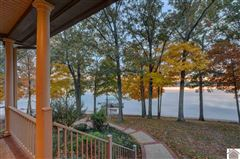 Remarkable lakefront home on Kentucky Lake mansions