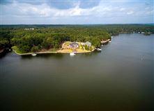Custom-built home offers Panoramic Lake views  mansions