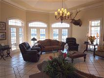 Custom-built home offers Panoramic Lake views  luxury properties