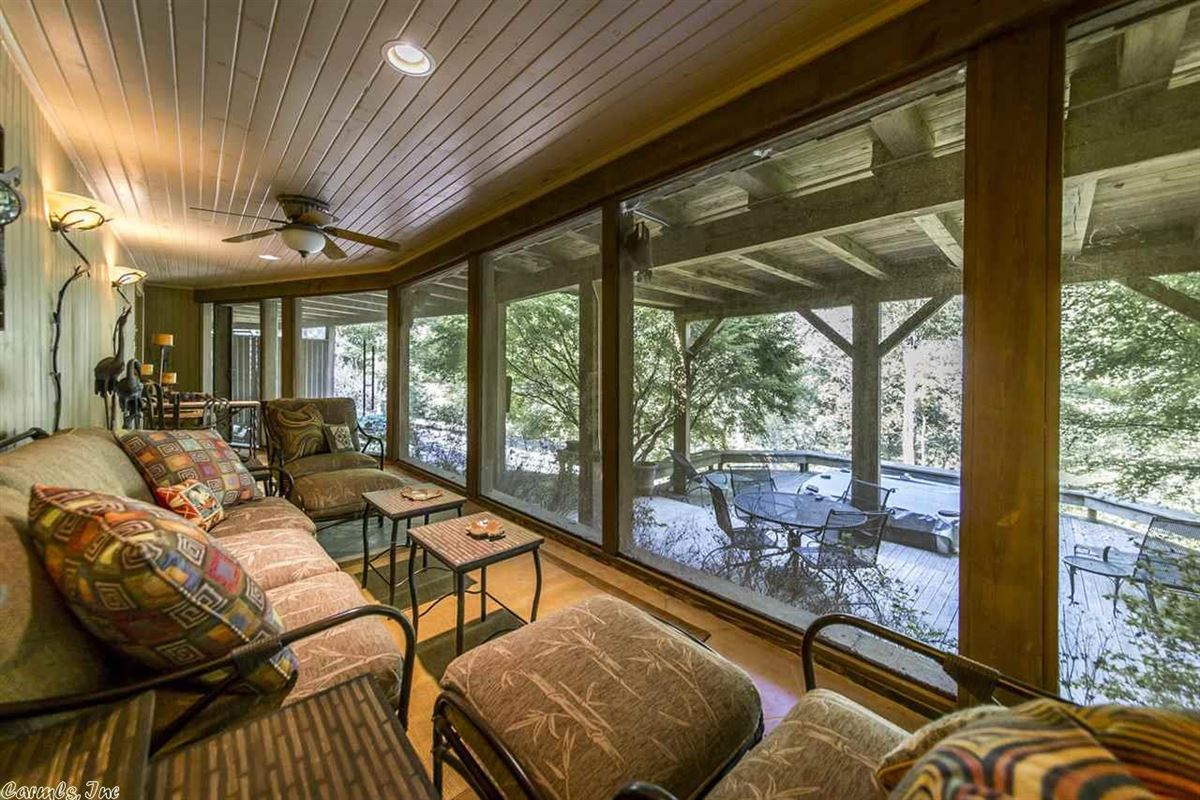 beautiful Fay Jones Design home  luxury real estate