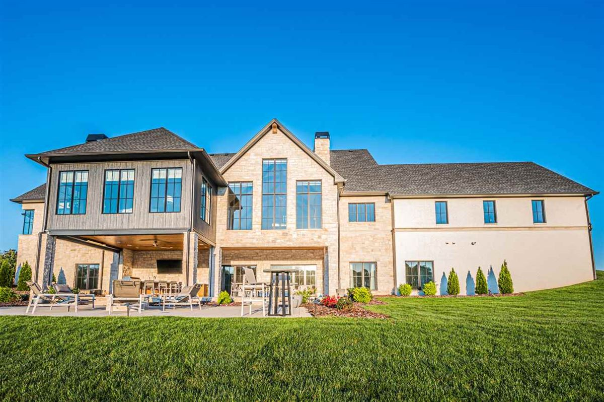 Luxury homes Olde stone luxury living at its finest