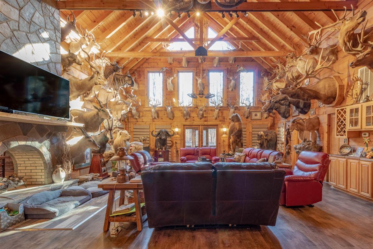 Luxury properties Beautiful custom home on 20-plus secluded acres