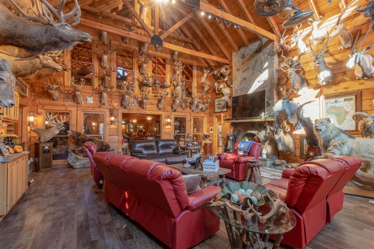Beautiful custom home on 20-plus secluded acres luxury properties