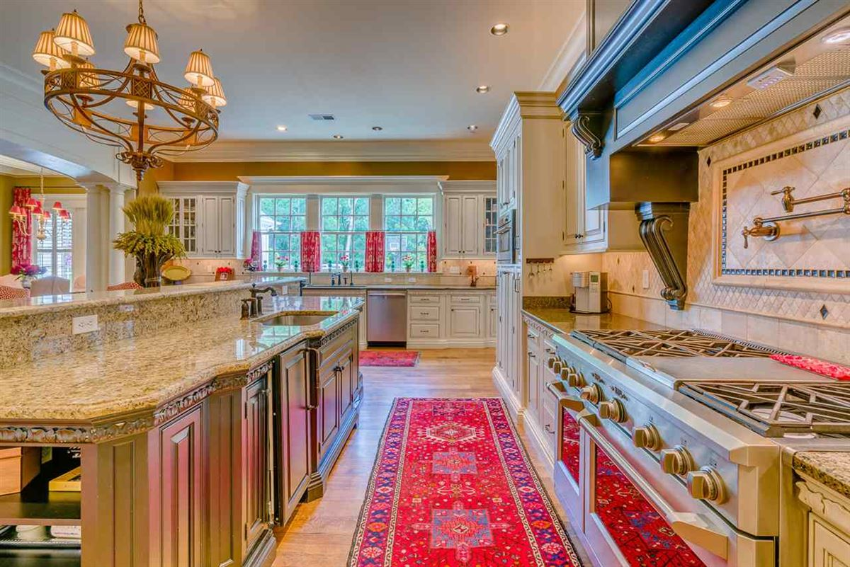 Luxury properties Well-appointed custom estate home