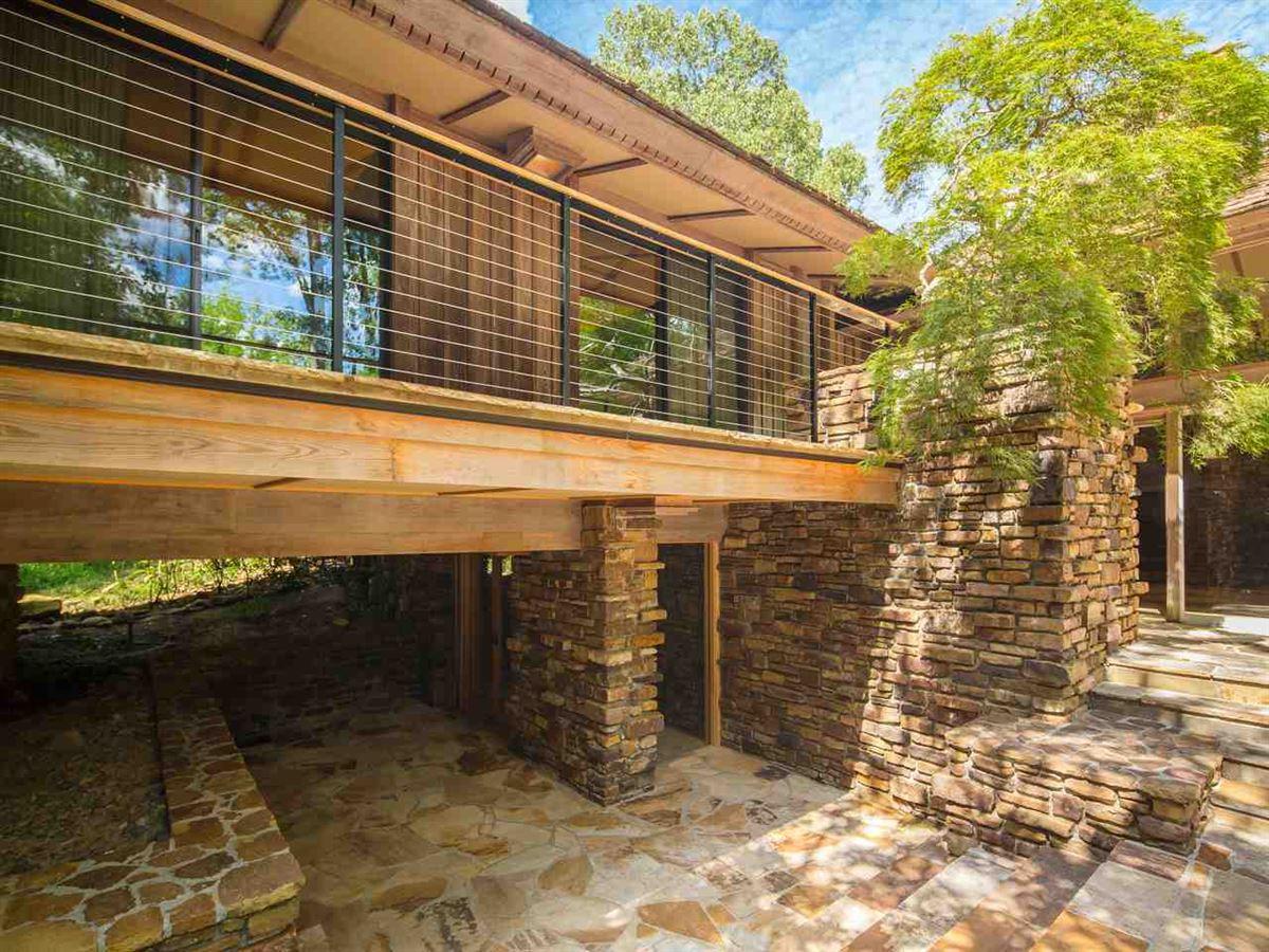 Luxury homes Organic mid-century modern home in memphis