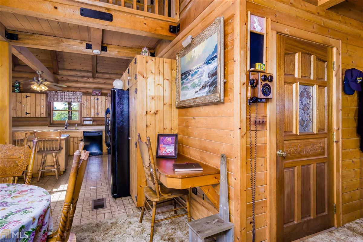 log cabin retreat on 85 acres mansions