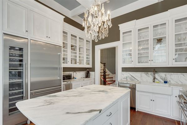 Magnificently restored Annesdale Mansion luxury real estate